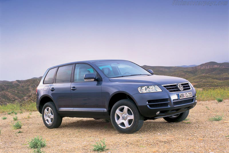 Click here to open the Volkswagen Touareg gallery