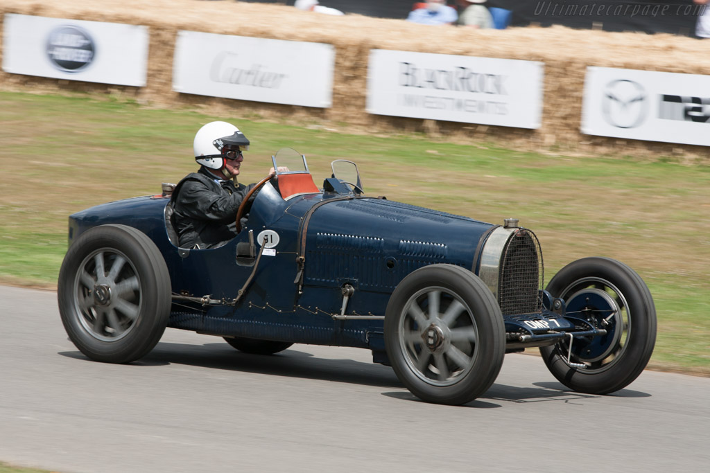 Bugatti Type 51 Grand Prix - Chassis: 51140   - 2009 Goodwood Festival of Speed
