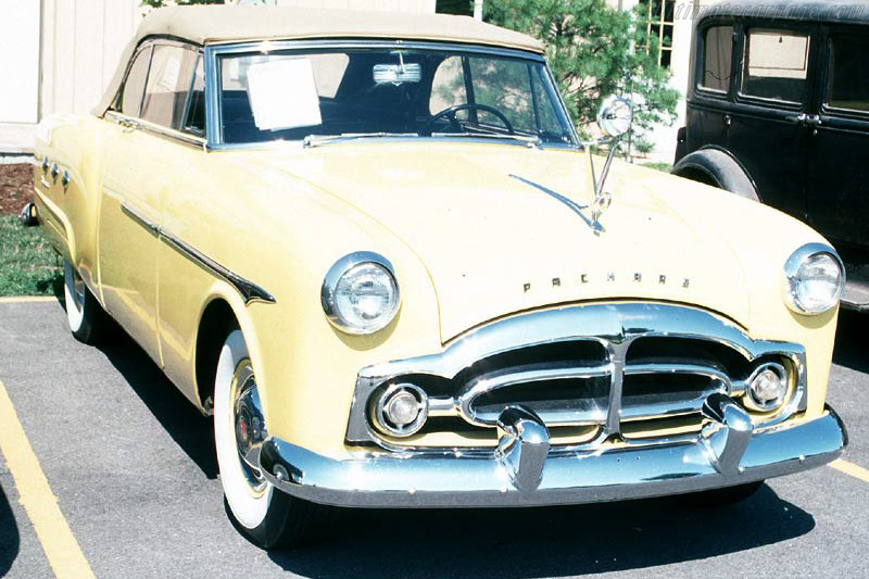 Click here to open the Packard 200 Convertible gallery