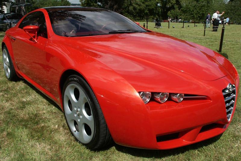 Alfa Romeo Brera Concept    - 2002 Louis Vuitton Classic