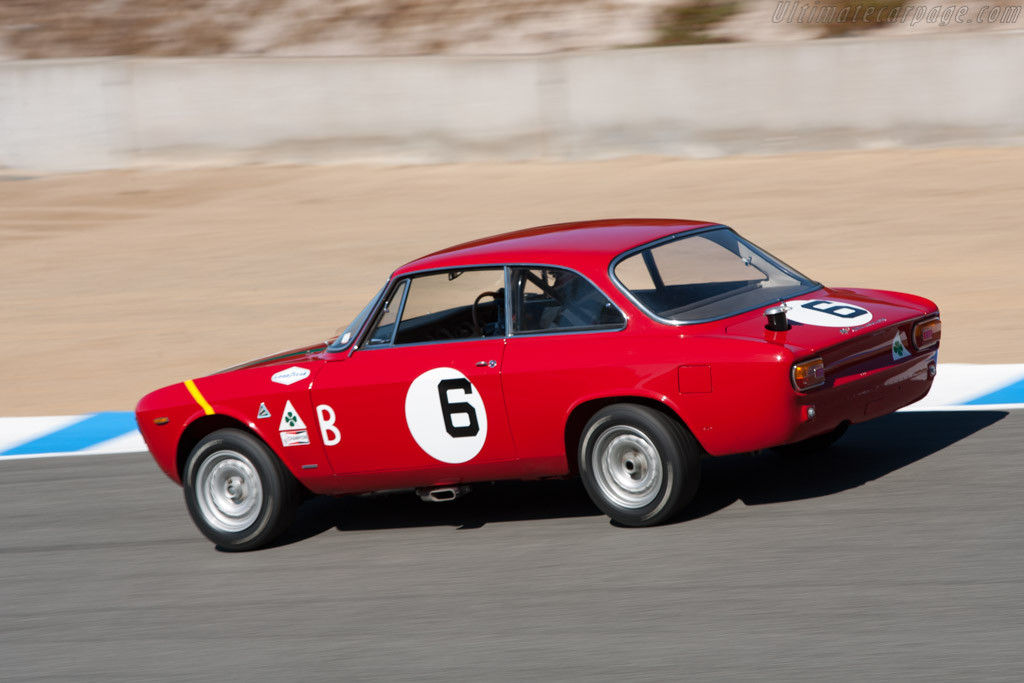 Alfa Romeo Giulia 1600 Sprint GTA - Chassis: AR752648  - 2010 Monterey Motorsports Reunion