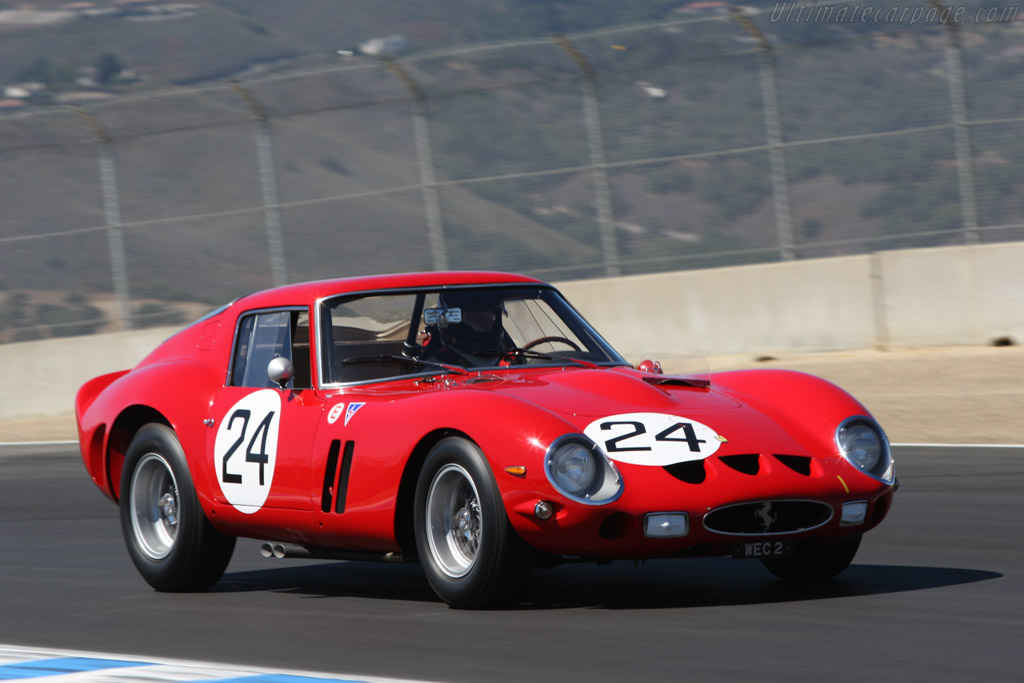 ferrari 250 gto chassis 4293gt 2007 monterey historic automobile races. Black Bedroom Furniture Sets. Home Design Ideas