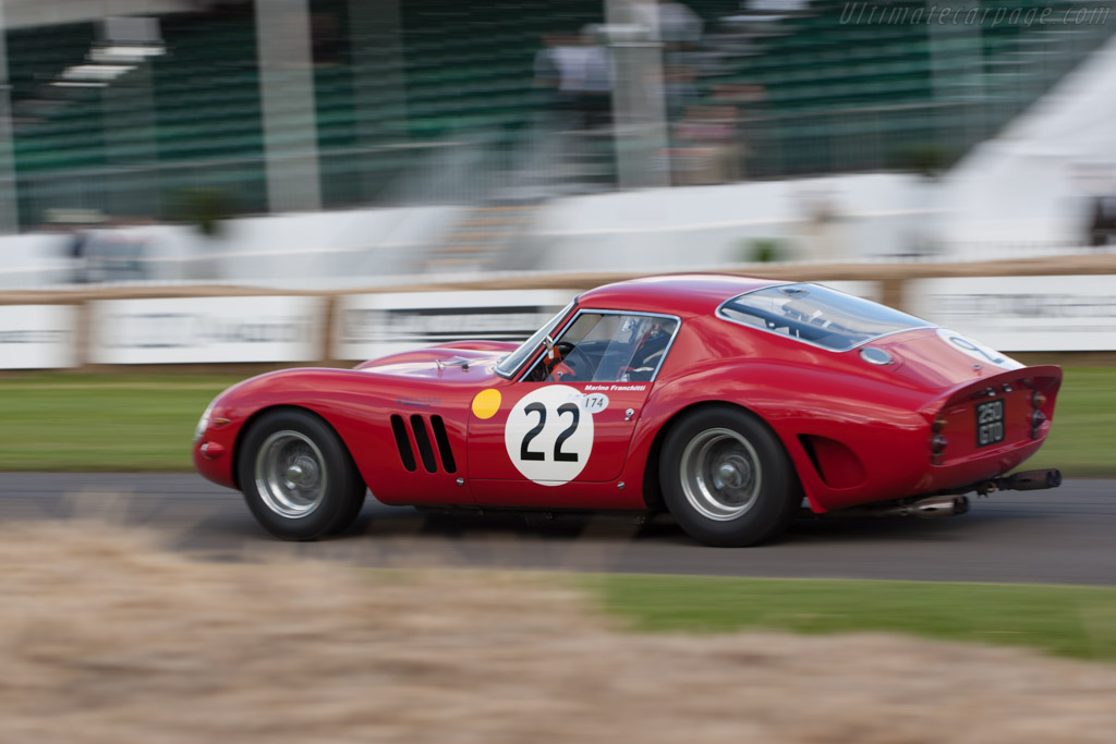 ferrari 250 gto chassis 3757gt 2012 goodwood festival of speed. Black Bedroom Furniture Sets. Home Design Ideas