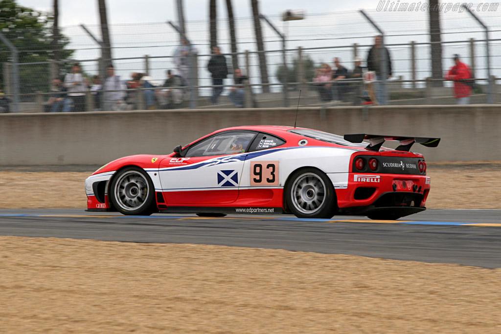 Ferrari 360 GT - Chassis: 2016   - 2005 Le Mans Test