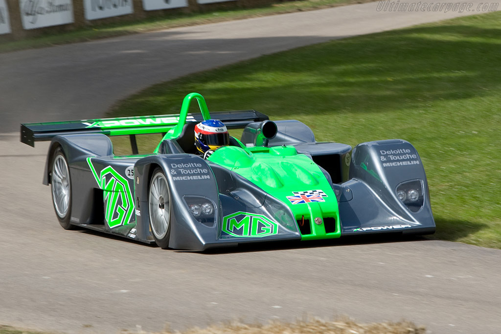 MG Lola EX257 - Chassis: HU MG LMP 001  - 2008 Goodwood Festival of Speed