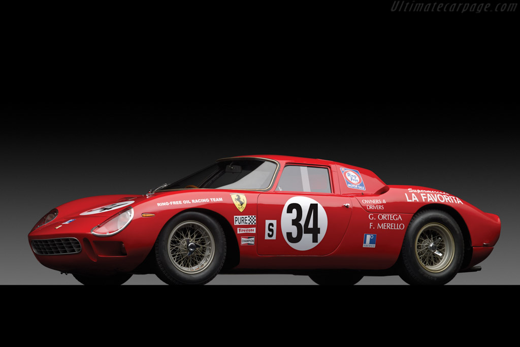 Ferrari 250 Lm Chassis 6107 High Resolution Image