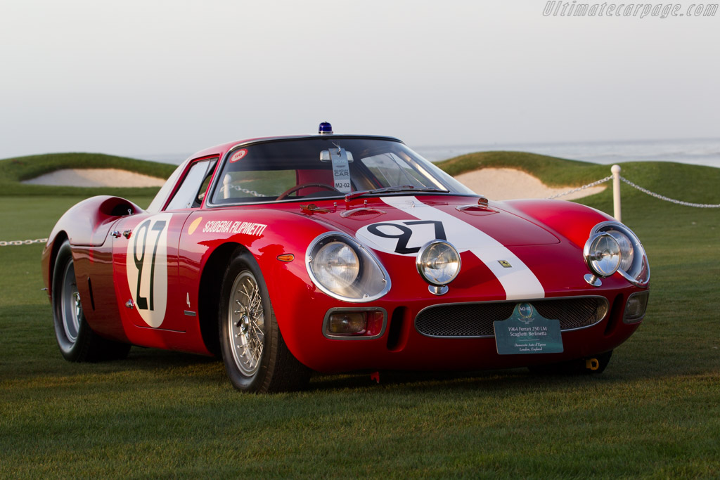 ferrari 250 lm chassis 6119 2015 pebble beach. Black Bedroom Furniture Sets. Home Design Ideas