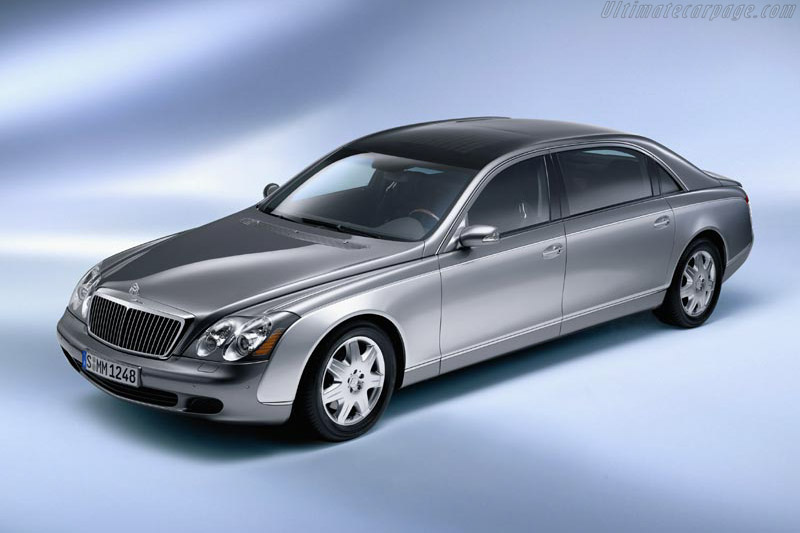 Click here to open the Maybach 62 gallery