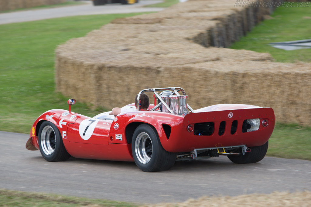 Lola T70 Mk3B Spyder Chevrolet - Chassis: SL75/123   - 2008 Goodwood Festival of Speed