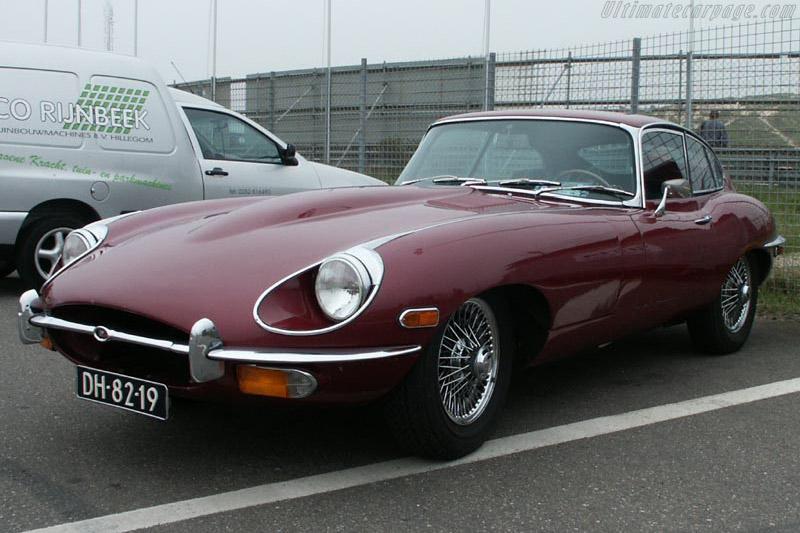 Jaguar E-Type S2 Coupe