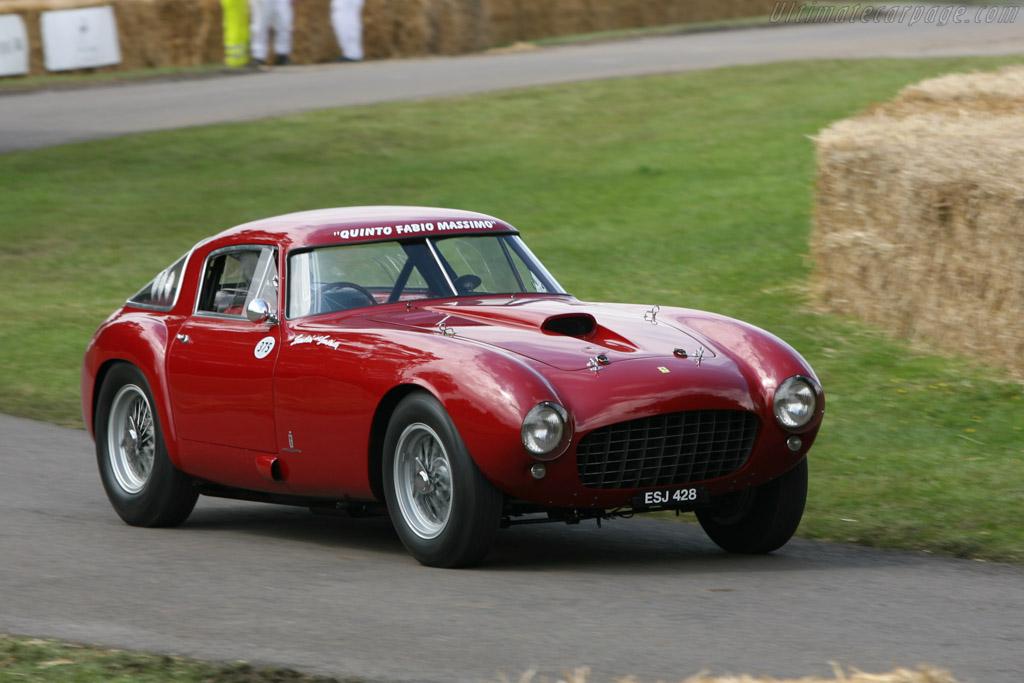 1953 1955 Ferrari 375 Mm Pinin Farina Berlinetta Chassis 0358am Ultimatecarpage Com