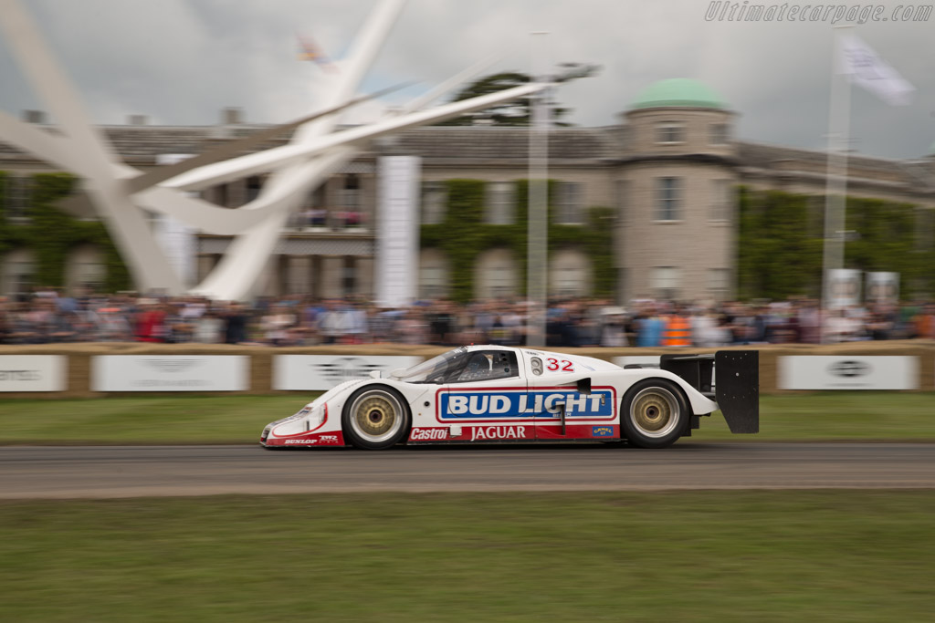 Jaguar XJR-12 - Chassis: J12-C-193 - Entrant: Don Law Racing - Driver: Justin Law  - 2016 Goodwood Festival of Speed