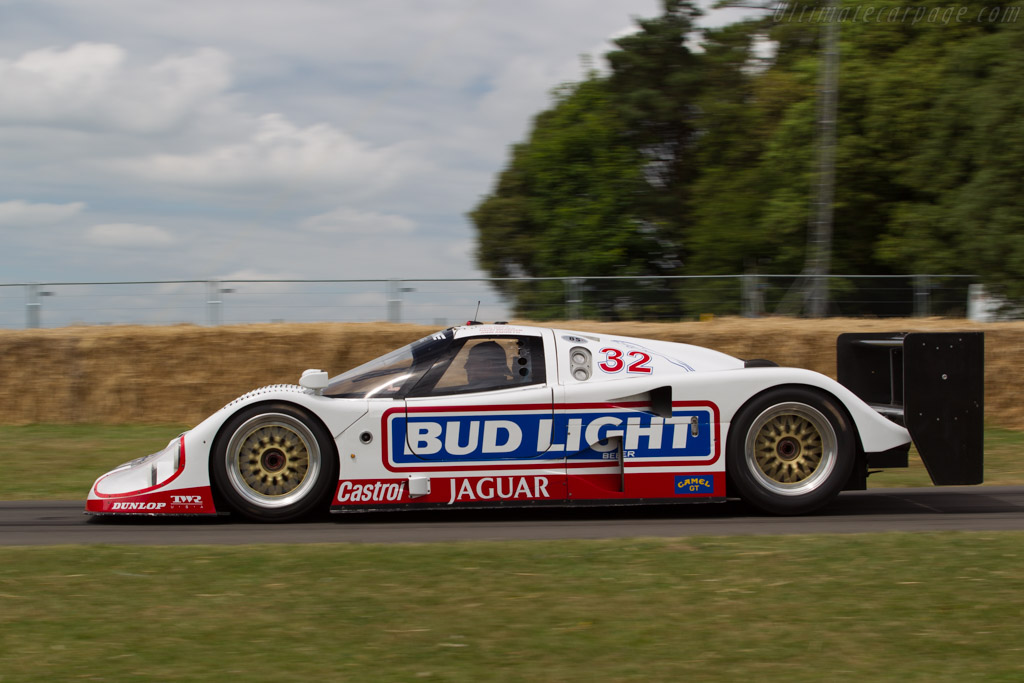 Jaguar XJR-12 - Chassis: J12-C-193 - Entrant: Don Law Racing - Driver: Justin Law  - 2017 Goodwood Festival of Speed