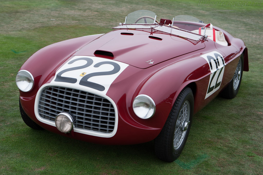 Click here to open the Ferrari 166 MM Touring Barchetta gallery