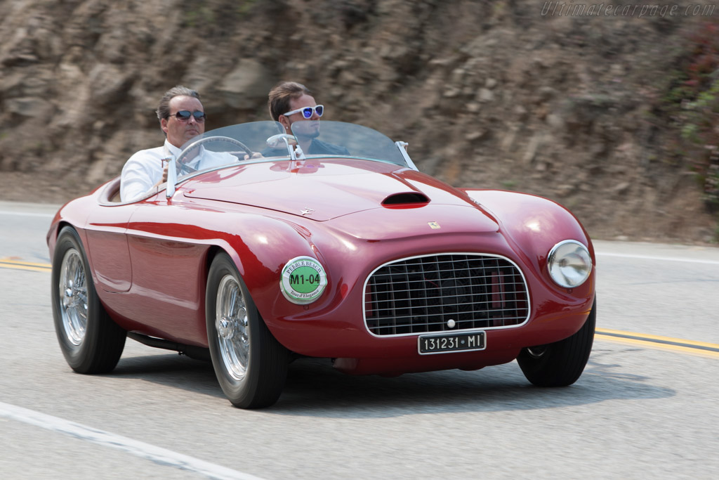 Ferrari 166 MM Touring Barchetta - Chassis: 0006M  - 2009 Pebble Beach Concours d'Elegance