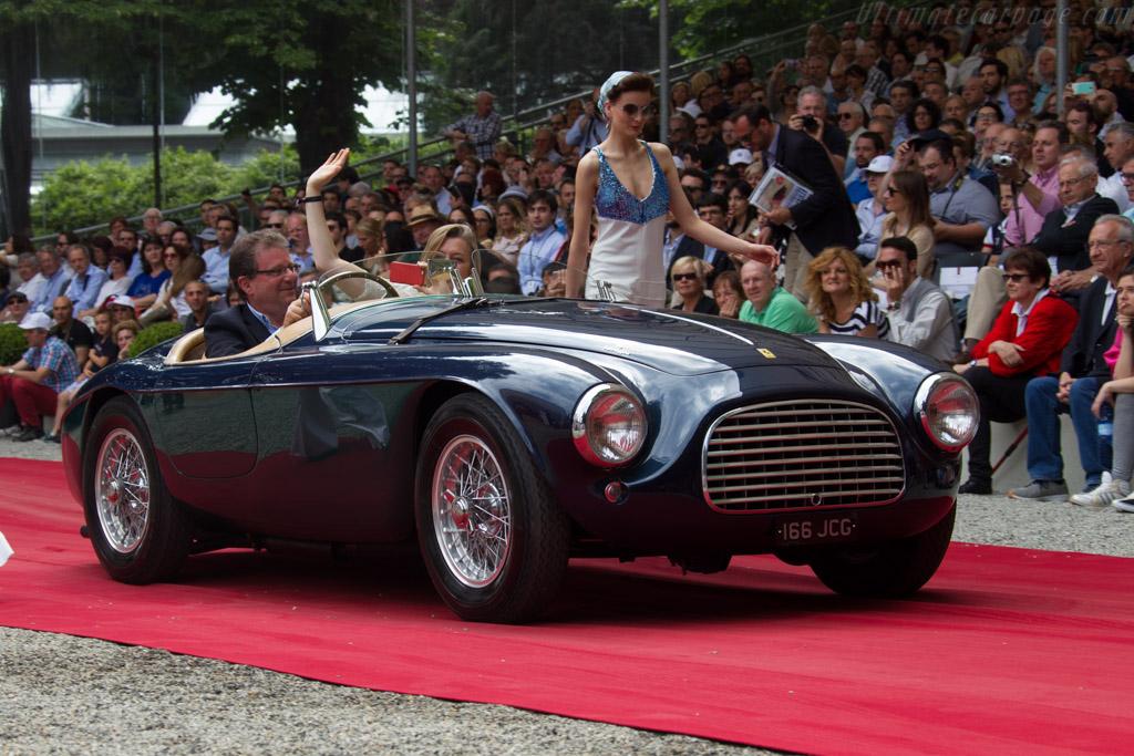Ferrari 166 MM Touring Barchetta - Chassis: 0064M   - 2015 Concorso d'Eleganza Villa d'Este
