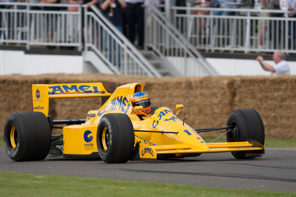 Lotus 102 Lamborghini - Chassis: 102/4 - Driver: Martin Donnelley  - 2011 Goodwood Festival of Speed