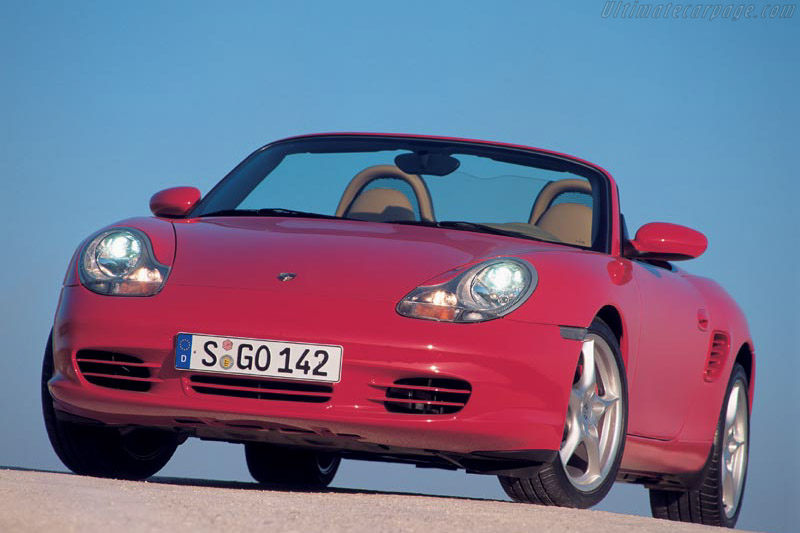 Click here to open the Porsche 986 Boxster S gallery