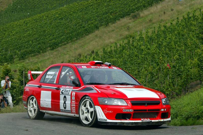 2002 Mitsubishi Lancer Evo VII WRC2 - Images ...