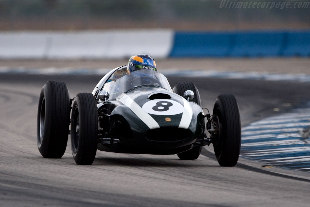 Cooper T51 Climax - Chassis: F2-23A-58 - Driver: David Brabham  - 2009 Sebring 12 Hours