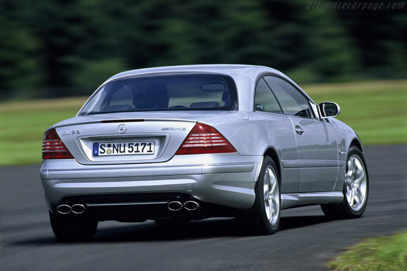 Mercedes-Benz CL 55 AMG