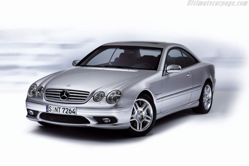 Click here to open the Mercedes-Benz CL 55 AMG gallery