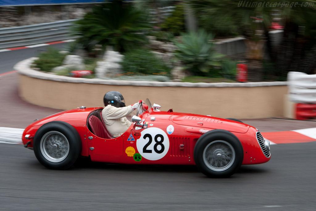 Maserati A6GCS - Chassis: 2002   - 2010 Monaco Historic Grand Prix