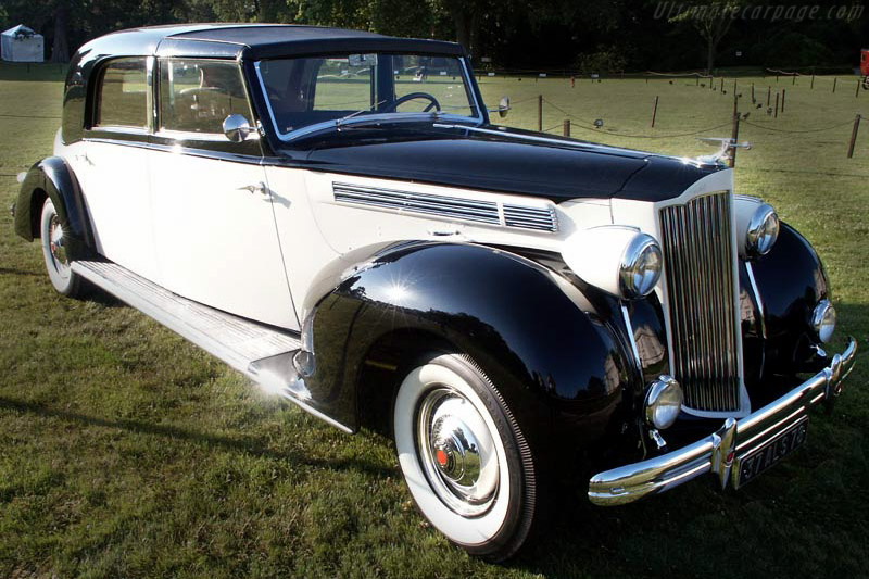 Click here to open the Packard 120 Franay Coupe Chauffeur gallery