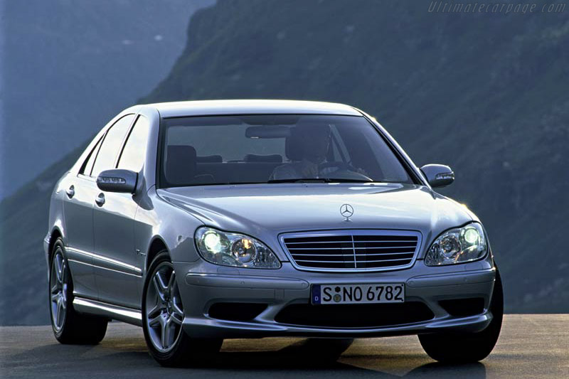 Click here to open the Mercedes-Benz S 55 AMG gallery