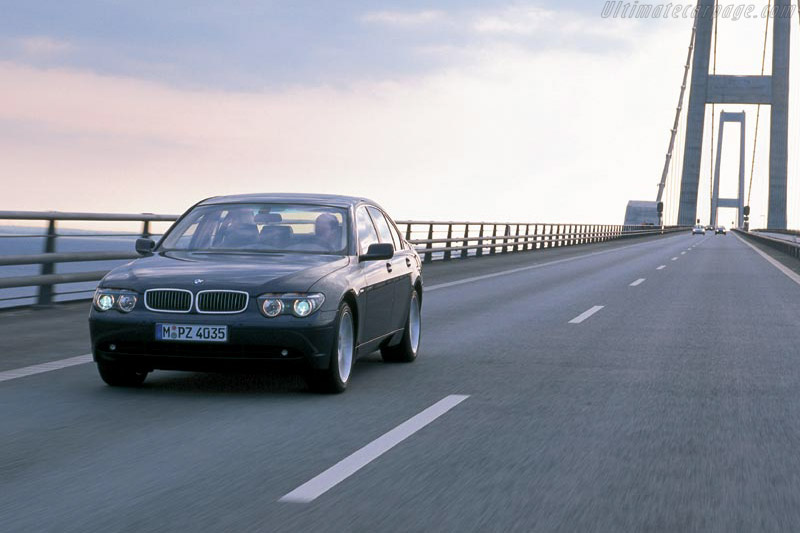 Click here to open the BMW E65 740d gallery