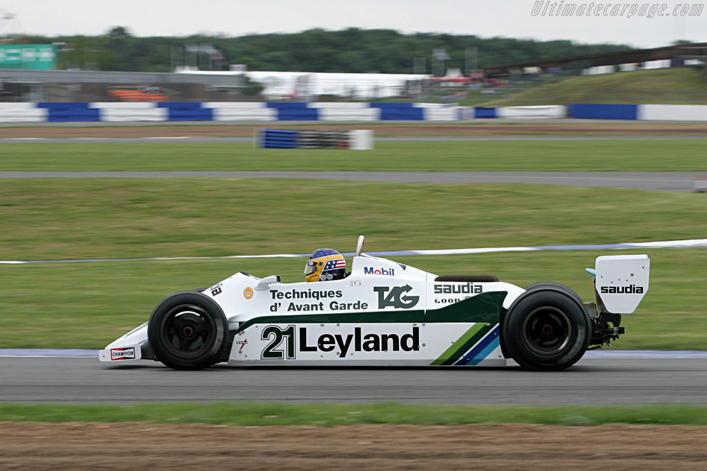 Williams FW07C Cosworth - Chassis: FW07C/15   - 2005 Silverstone Classic