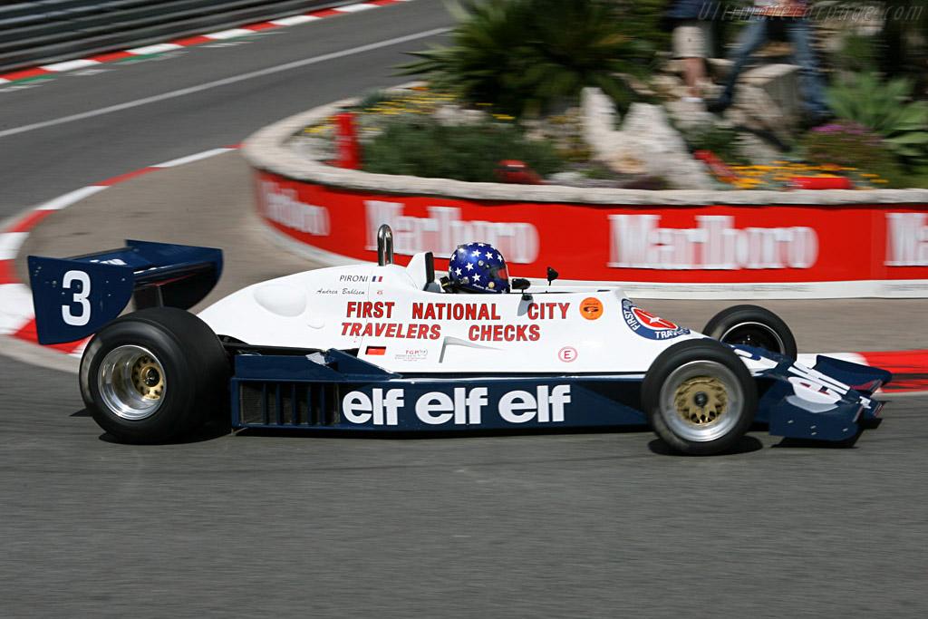 Tyrrell 008 Cosworth - Chassis: 008/4   - 2006 Monaco Historic Grand Prix