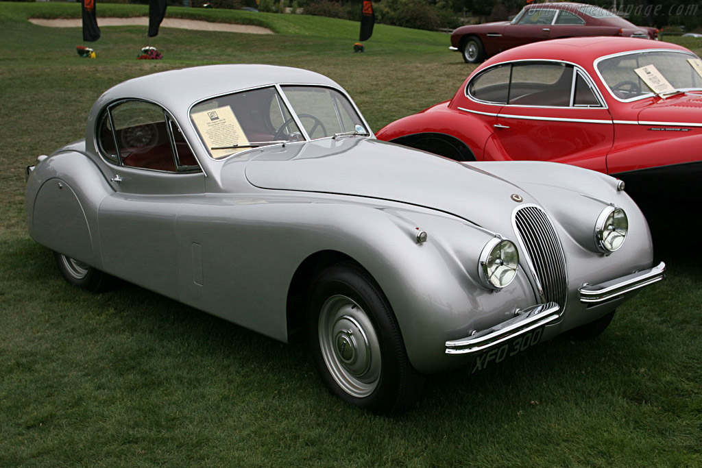 Click here to open the Jaguar XK120 Fixed Head Coupe gallery