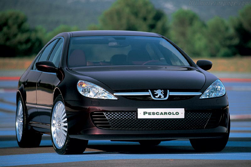 Click here to open the Peugeot 607 Pescarolo gallery