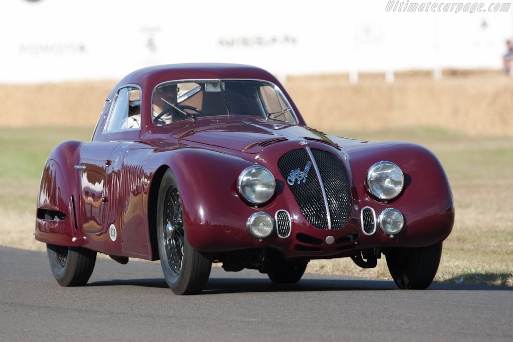 Alfa Romeo 8c 2900b Le Mans >> Alfa Romeo 8C 2900B Le Mans Berlinetta - Chassis: 412033 - 2010 Goodwood Festival of Speed