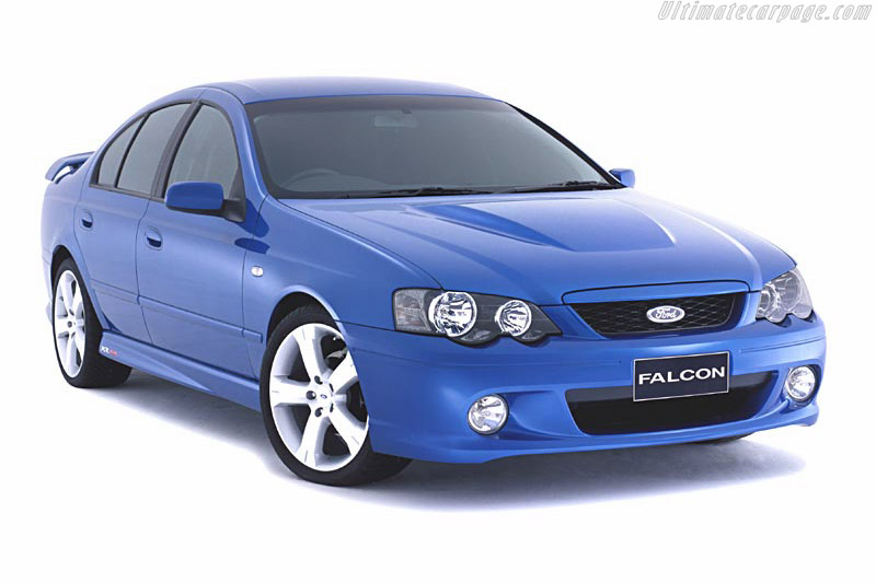 Click here to open the Ford BA Falcon XR8 gallery