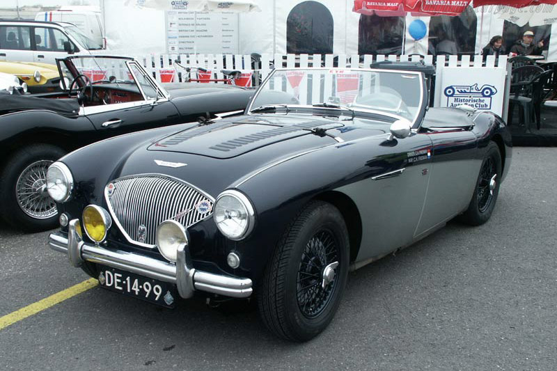 Click here to open the Austin Healey 100M gallery