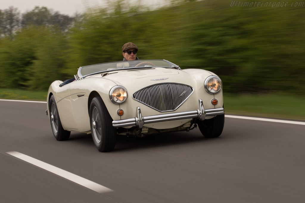 1955 1956 Austin Healey 100m Images Specifications