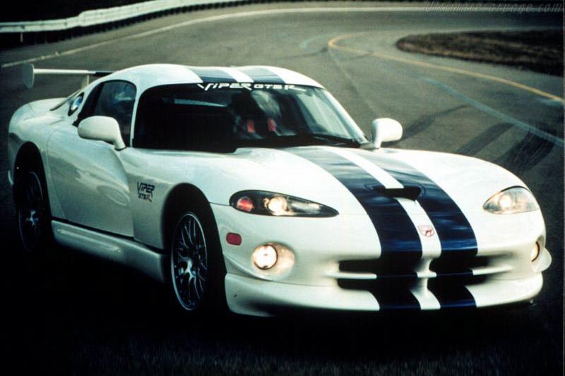 Dodge Viper GTS-R Road