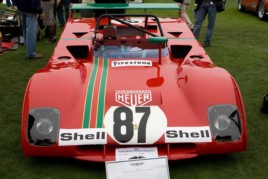 Ferrari 312 PB - Chassis: 0892   - 2008 Pebble Beach Concours d'Elegance