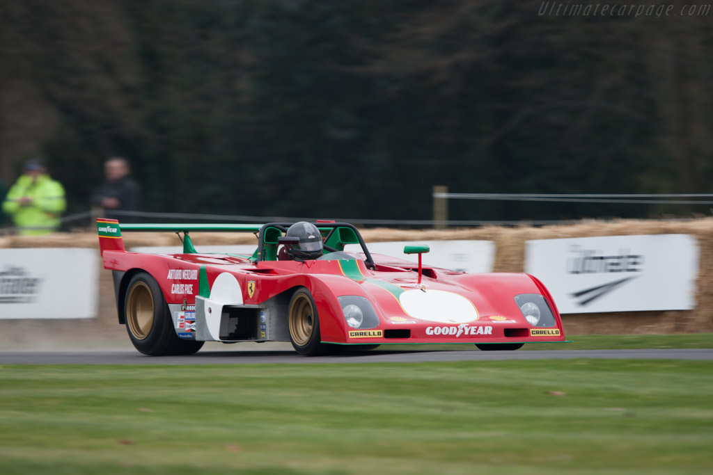 Ferrari 312 PB - Chassis: 0890   - 2011 Goodwood Preview