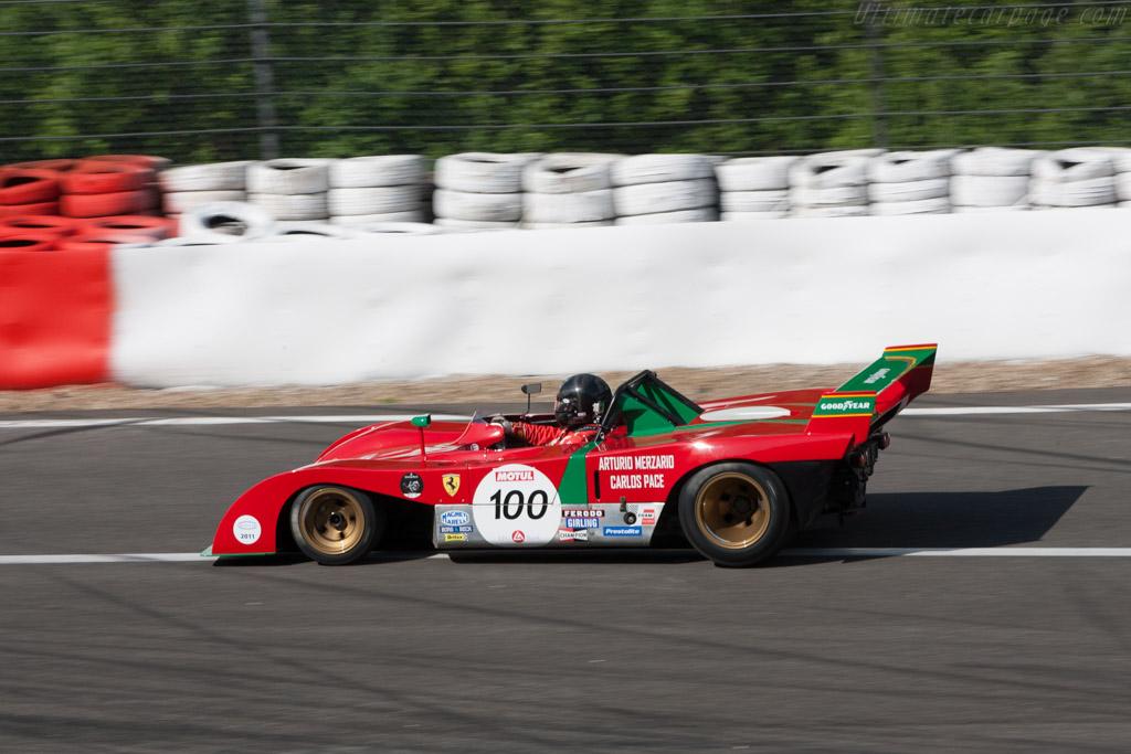 Ferrari 312 PB - Chassis: 0890   - 2011 Spa Classic