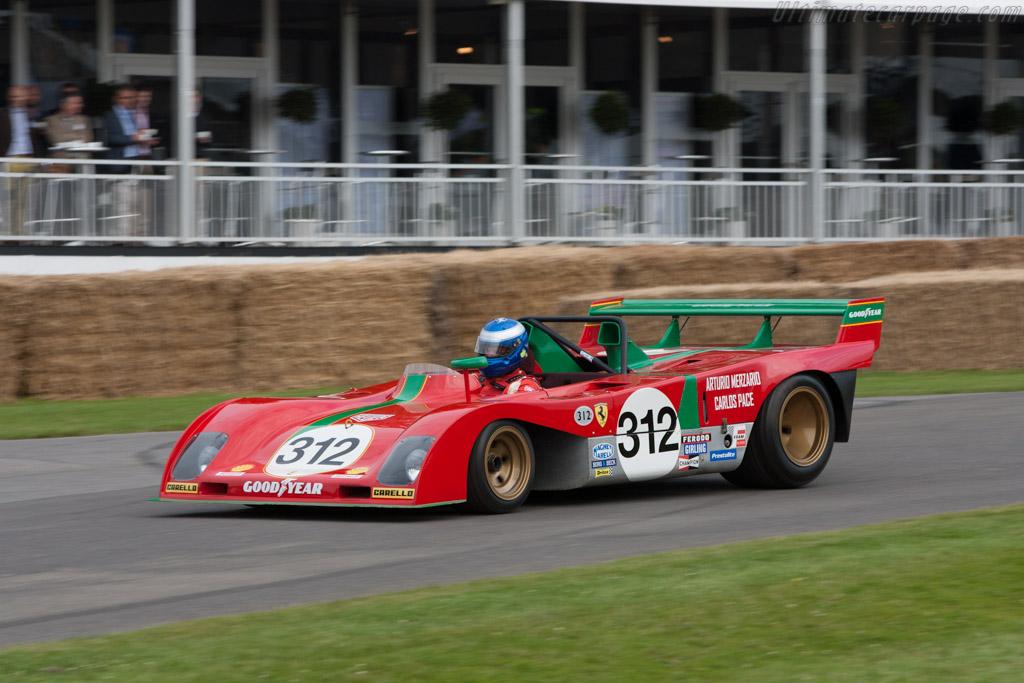 Ferrari 312 PB - Chassis: 0890   - 2012 Goodwood Festival of Speed