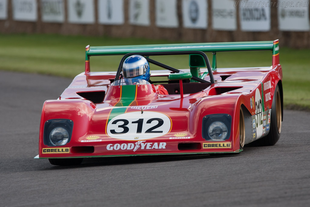 Ferrari 312 PB - Chassis: 0890   - 2012 Goodwood Festival of Speed