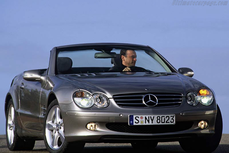Click here to open the Mercedes-Benz SL 600 gallery