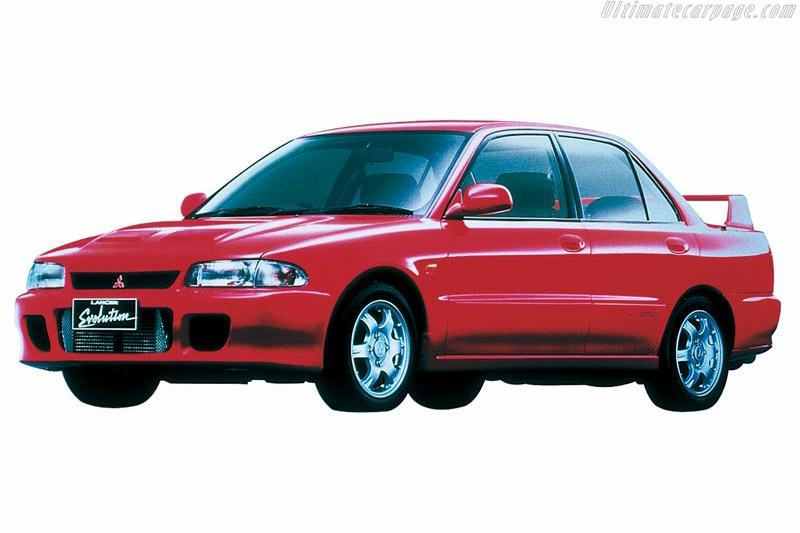 Click here to open the Mitsubishi Lancer EVO I GSR gallery