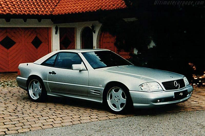 1996 - 1998 Mercedes-benz Sl 60 Amg