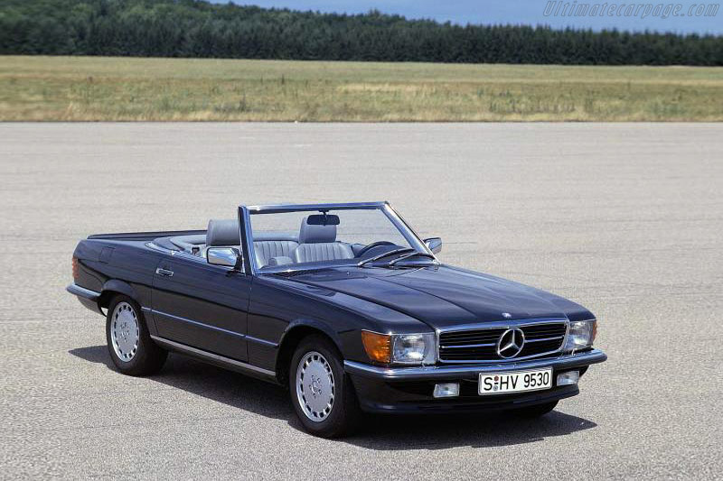 1985 1989 Mercedes Benz 560 Sl Images Specifications