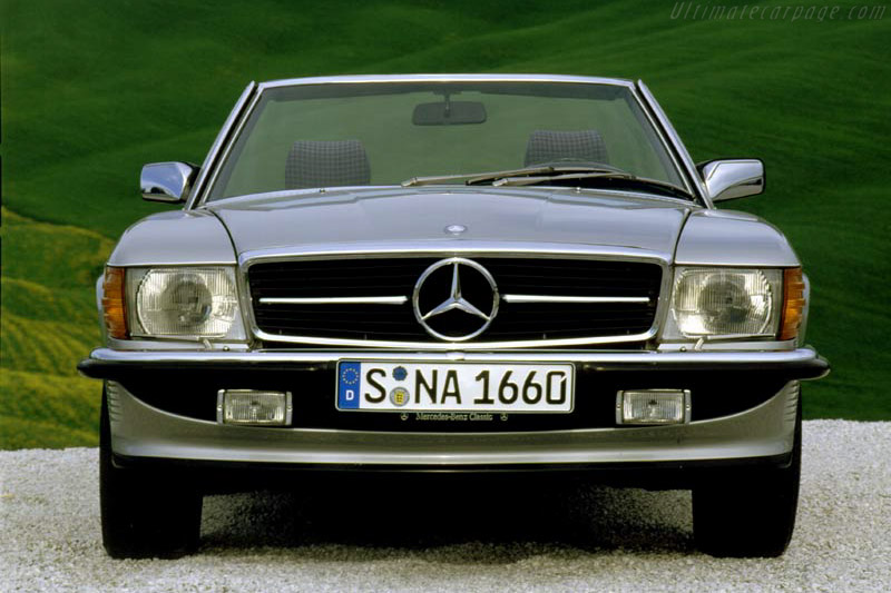 Click here to open the Mercedes-Benz 500 SL gallery