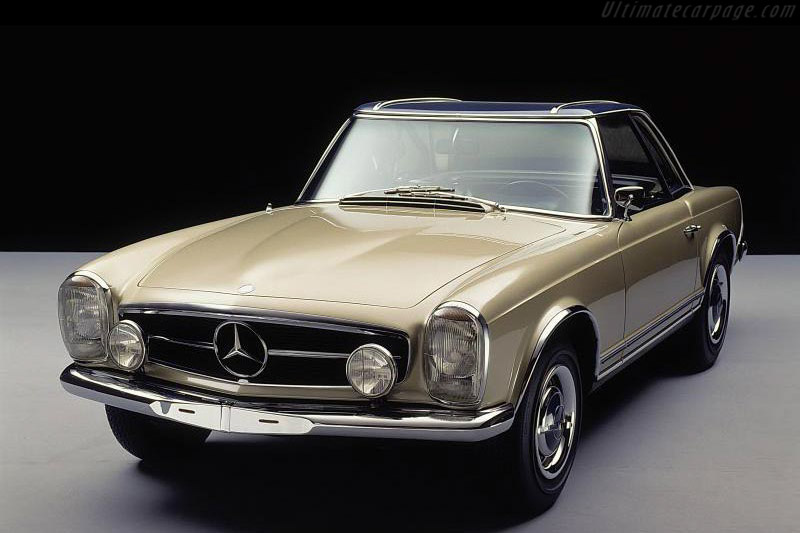 Click here to open the Mercedes-Benz 230 SL Pagoda gallery